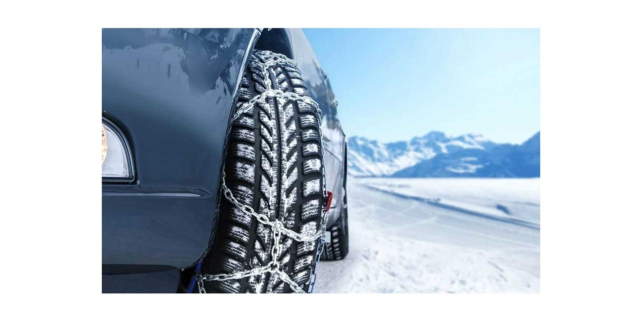 استفاده از زنجیر چرخ در زمستان