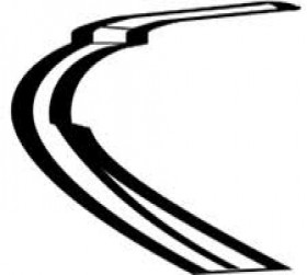 نوار جلویی درب عقب چپ / میتسوبیشی / کد فنی5755A411