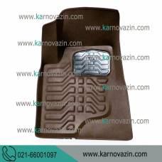 زیر پایی سه بعدی قهوه ای / BYD S6 / کد فنی 10891210BRW